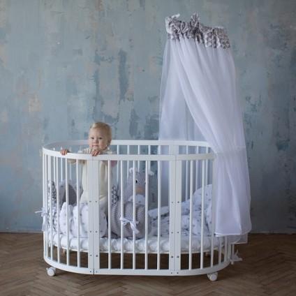 Кроватки овальные 8в1