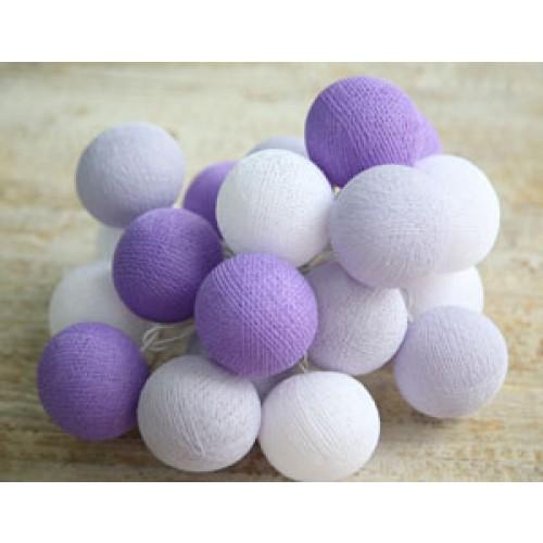 Фиолетово-белые